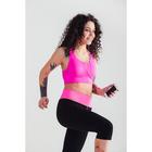 Спортивные бриджи ONLITOP Balance, размер 42-44, цвет розовый