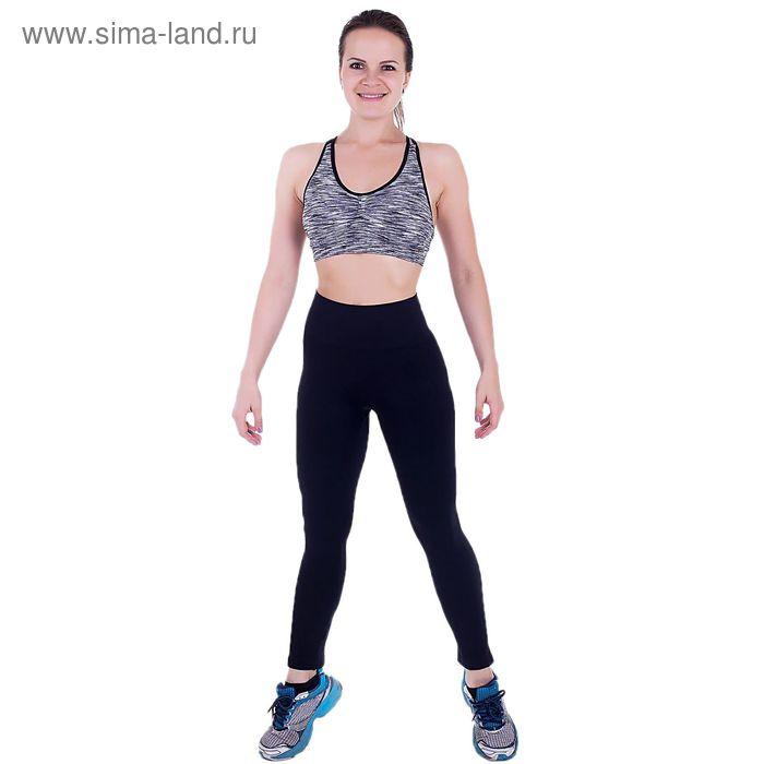 Спортивные легинсы ONLITOP Basic black, L-XL (46-48), 88% полиамид, 12% нейлон, 5% спандекс