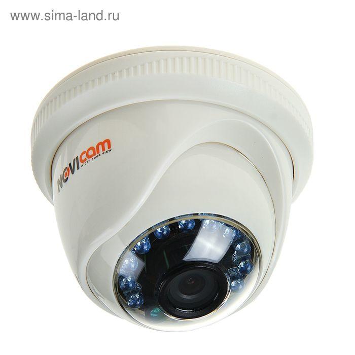 Видеокамера купольная NOVIcam AC11, 720 Р, ИК 10 м