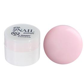 Гель-краска для ногтей трёхфазный LED/UV, 8мл, цвет 02 бледно-розовый