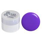 Гель-краска для ногтей трёхфазный LED/UV, 8мл, цвет 10 тёмно-сиреневый
