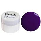 Гель-краска для ногтей трёхфазный LED/UV, 8мл, цвет 15 фиолетовый