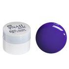 Гель-краска для ногтей трёхфазный LED/UV, 8мл, цвет 27 фиолетовый