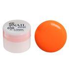 Гель-краска для ногтей трёхфазный LED/UV, 8мл, цвет 36 неоновый оранжевый