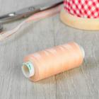Нитки 40/2, 365м, №123, цвет персиковый