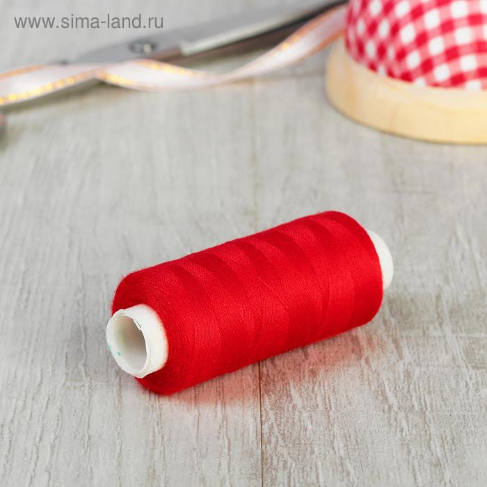 Нитки 40/2, 365м, №509, цвет красный