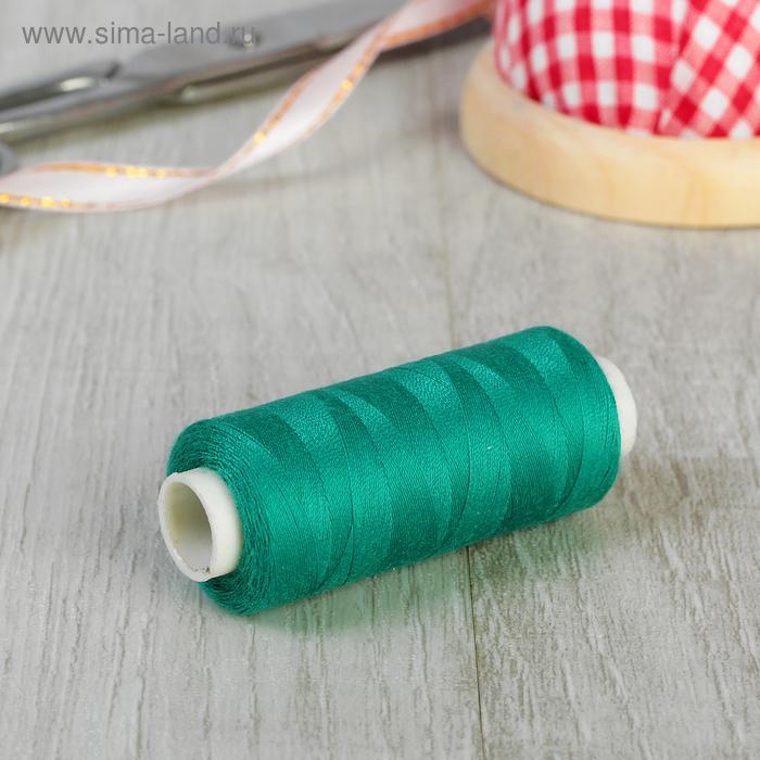 Нитки 40/2, 365м, №720, цвет зелёный