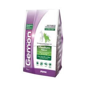 Сухой корм Gemon Dog Medium для взрослых собак средних пород, ягненок/рис, 3 кг.
