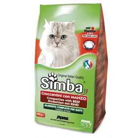 Сухой корм Simba Cat  для кошек, с говядиной, 2 кг