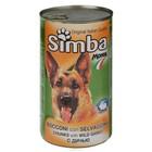 Влажный корм Simba Dog  для собак, кусочки дичи, ж/б, 415 г
