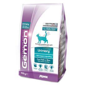Сухой корм Gemon Cat Urinary для профилактики мочекаменной болезни для взрослых кошек, с курицей и рисом, 400 г