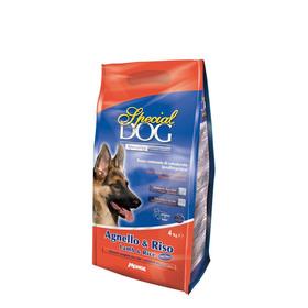 Сухой корм Special Dog для собак с чувств. кожей и пищ-ем, ягненок/рис, 4 кг.