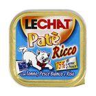 Влажный корм Lechat  для кошек, тунец/океаническая рыба/рис, ламистер, 100 г