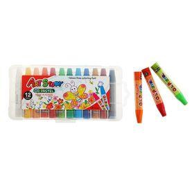 Пастель масляная 12 цветов Art Story, пластиковая упаковка