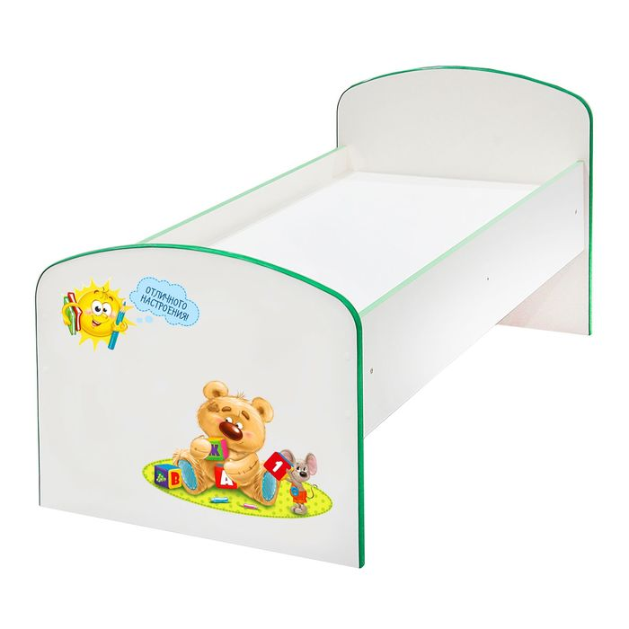 Детская кроватка «Весёлые друзья», ЛДСП