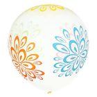 """Набор воздушных шаров """"Большие цветы""""5 шт. 10"""" - фото 308467597"""