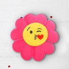 """Soft toy magnet """"Flower smiley face"""", MIX colors"""