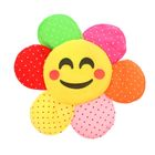 "Soft toy magnet ""Flower-smiley"" speckled, MIX color"