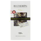 """Шоколад """"Bucheron"""" горький с миндалем, клюквой и фисташкой в картоне 100 гр"""