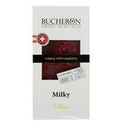 """Шоколад """"Bucheron"""" молочный с кусочками малины в картоне 100 гр"""