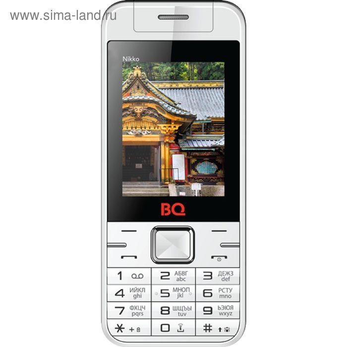 Сотовый телефон BQ M-2424 Nikko белый красный