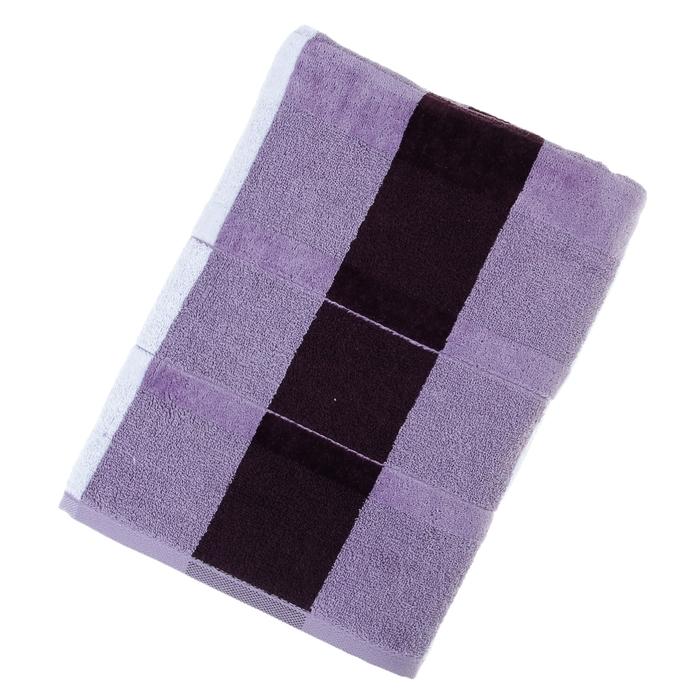 "Полотенце махровое Купу-Купу ""Ардо"", размер 70х130 см, 460 г/м2, цвет бордо"