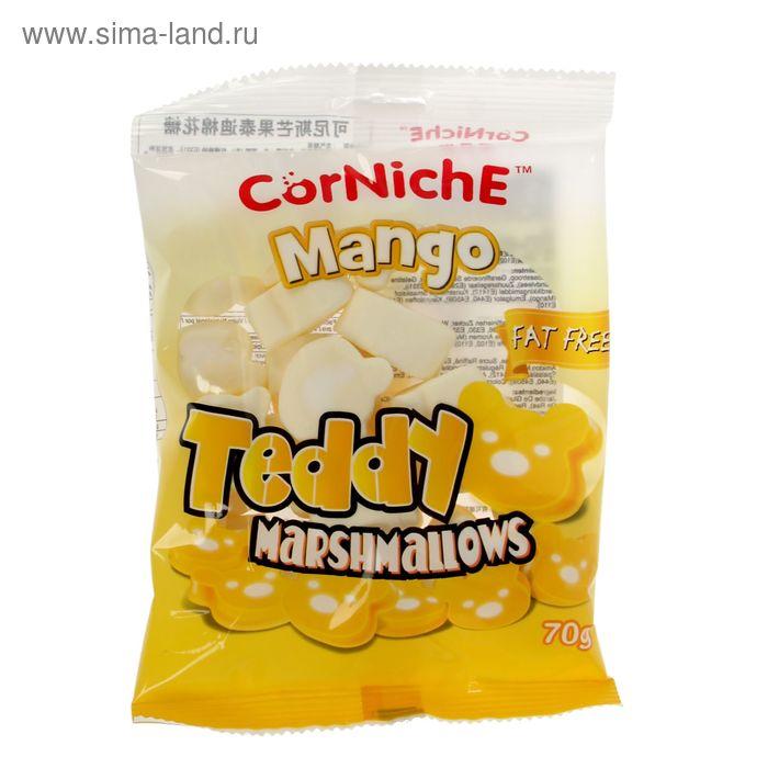 Воздушный зефир Marshmallow «CorNiche» Тедди манго 70 гр