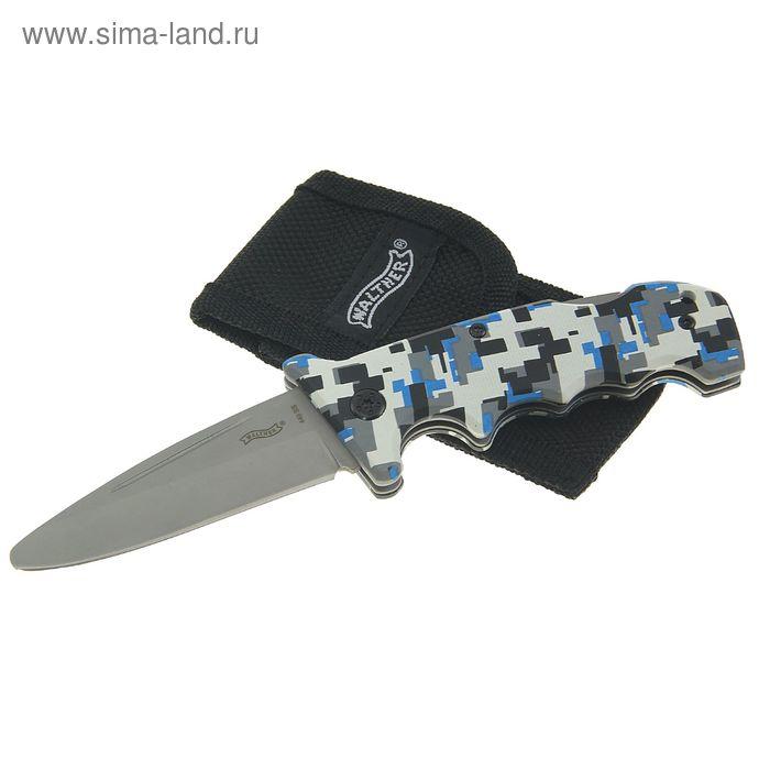Нож складной Walther Junior (голубой), 5.0723-2, шт