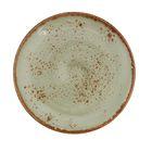 """Тарелка для пирожных 15,5 см """"Крафт"""", цвет зелёный"""