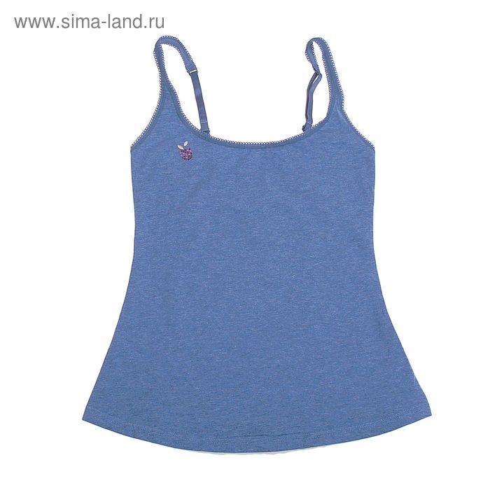 Майка женская Annie ECE2114 (меланж) bleu ardoise, р-р 3 (44)