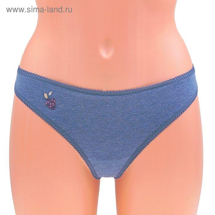 Трусы женские стринги Annie ECT0126 (меланж) bleu ardoise, р-р 2 (42)