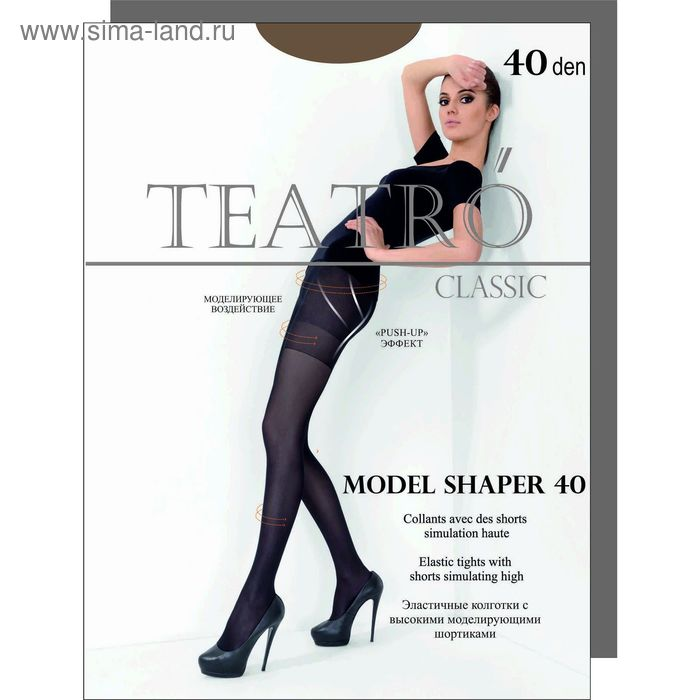 Колготки женские Model Shaper 40  (daino, 4)