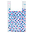 "Package ""Blue snowflake"", a polyethylene tank top, 28 x 50 cm, 12 µm"