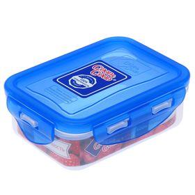 Контейнер пищевой 330 мл с герметичной крышкой, цвет МИКС