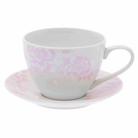 Чайная пара Peonies, чашка 315 мл блюдце 14,5 см