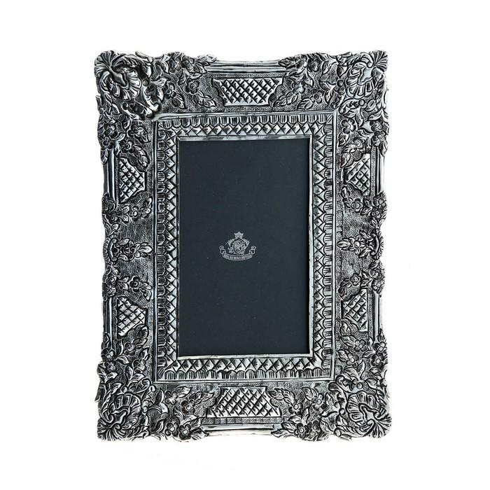 Photoframe Silver frame 10x15 cm.