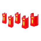 Набор уровней KAPRO для всех видов и типоразмеров труб, 5 штук, 350
