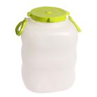 Фляга пищевая, 40 л, горловина 19 см, белая