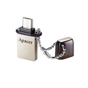 USB-флешка Apacer 32GB AH175 OTG, разъемы USB/microUSB, черная