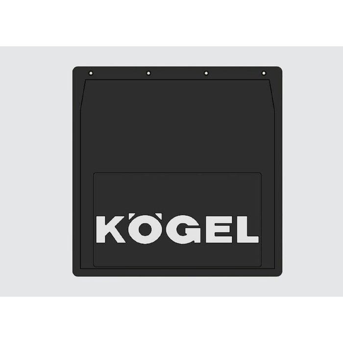 Брызговики на грузовики для KOGEL, 400х400 мм