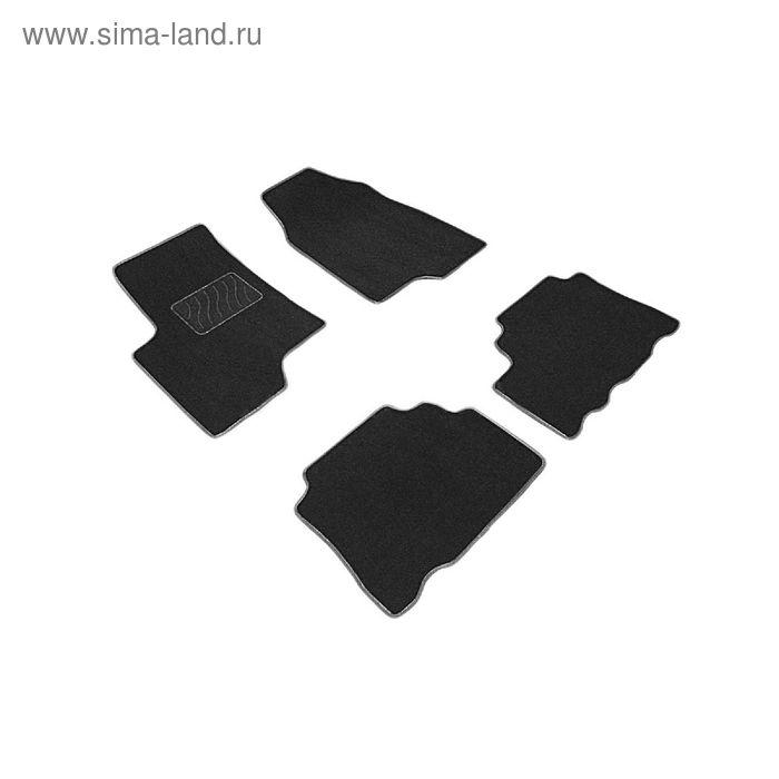 Ворсовые коврики для Chevrolet CAPTIVA, 2013-