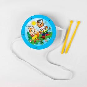 Игрушечный барабан, для детей, МИКС
