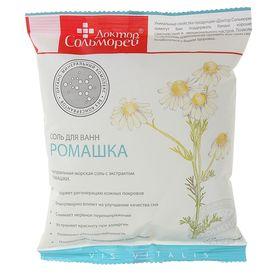 """Соль для ванн """"Доктор Сольморей"""" с экстрактом ромашки, 0,5 кг"""