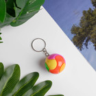 Keychain puzzle Ball, d=3 cm, MIX