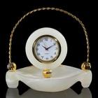 Часы «Корзинка», оникс