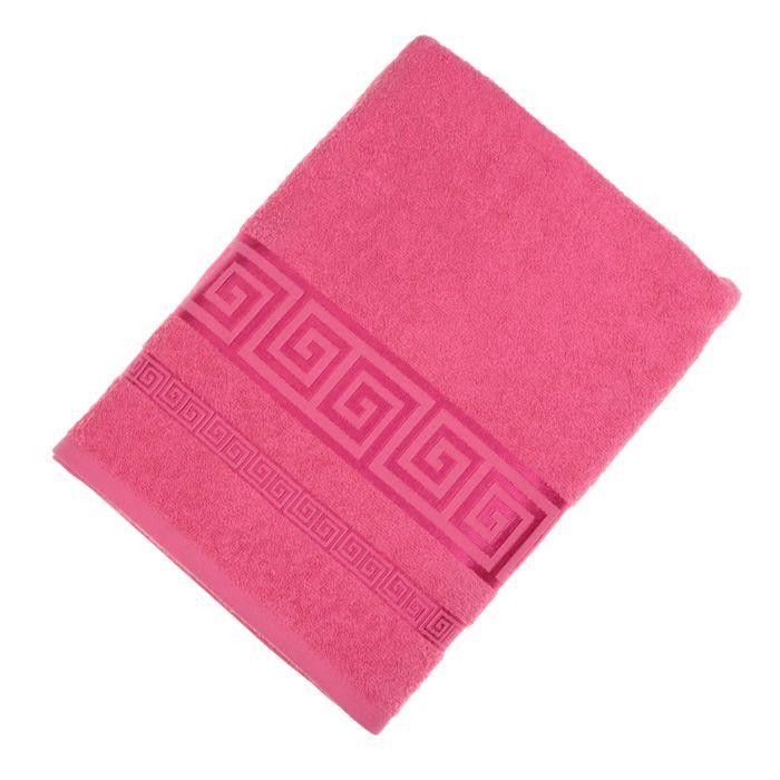 Полотенце махровое Fiesta Cotonn 70х130 см розовый 400гр/м2, хлопок 100%