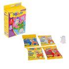 """Масса для лепки """"Шагающие игрушки"""", 4 цвета по 15 г + аксессуары"""