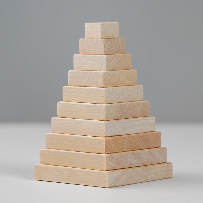 Детская пирамидка «Квадрат»
