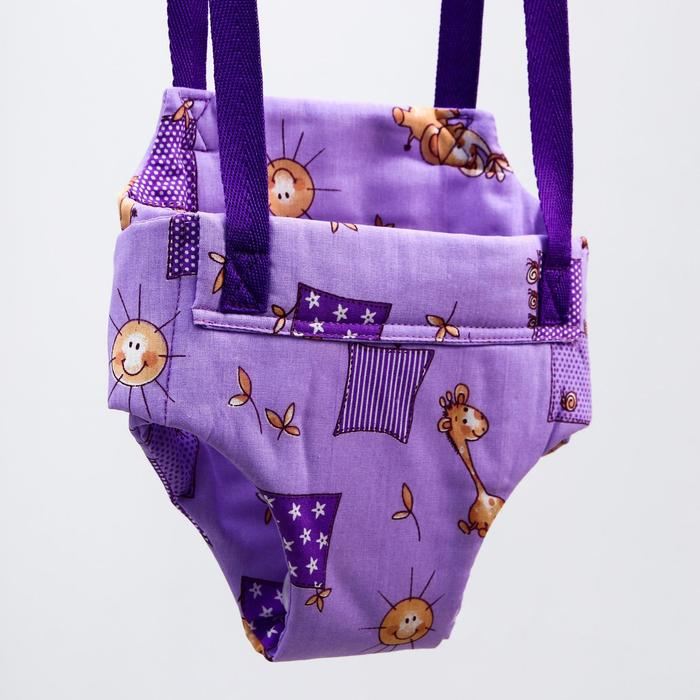 Детские прыгунки-качели 2 в 1 Baby Jamp, на экспандерном шнуре, цвета МИКС - фото 958200