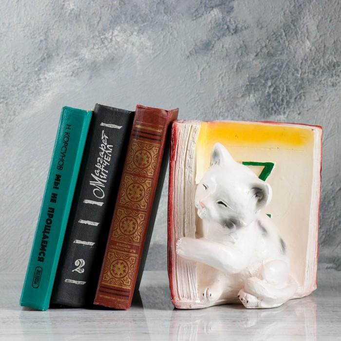 """Подставка для книг """"Котята - Z"""", бордо 19см"""